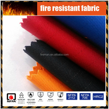 wholesale cotton twill flame retardant fabric for industrial workwear protective clothing EN UL certificated