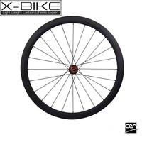 Perfect rigidity 700c full carbon clincher 38mm sale road bike wheels