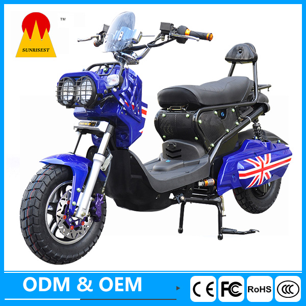 1000w kinetic moped electric battery powered motorcycle
