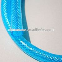 13*18MM 3 layers FDA Standard Clear PVC Fiber Reinforced Hose/Transparent Pipe in Food and Mendical level