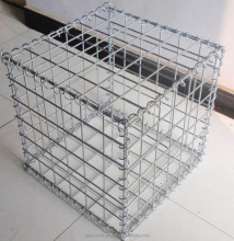 riverbed protection galvanized gabion wire mesh welded gabion box in Tanzania(ISO90010