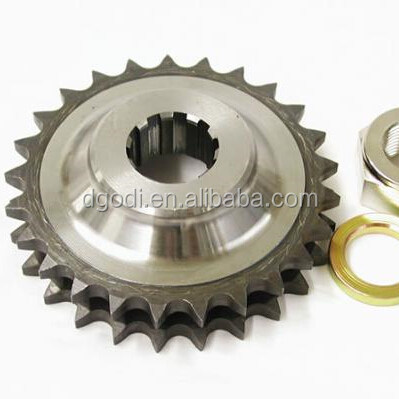 oem metal/hardened steel roller chain sprocket gear wheel for motorcycle