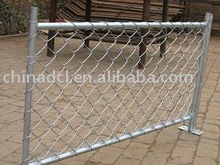 chain link galvanized removable temporary fence