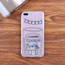2017 new stylish cute girl mobile phone accessories OEM case phone cover IMD for Samsung Galaxy S8 case