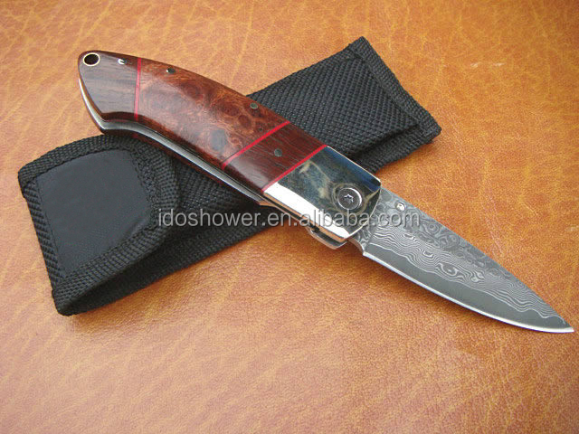 Doshower high quality pakistan damascus knives with guarantee