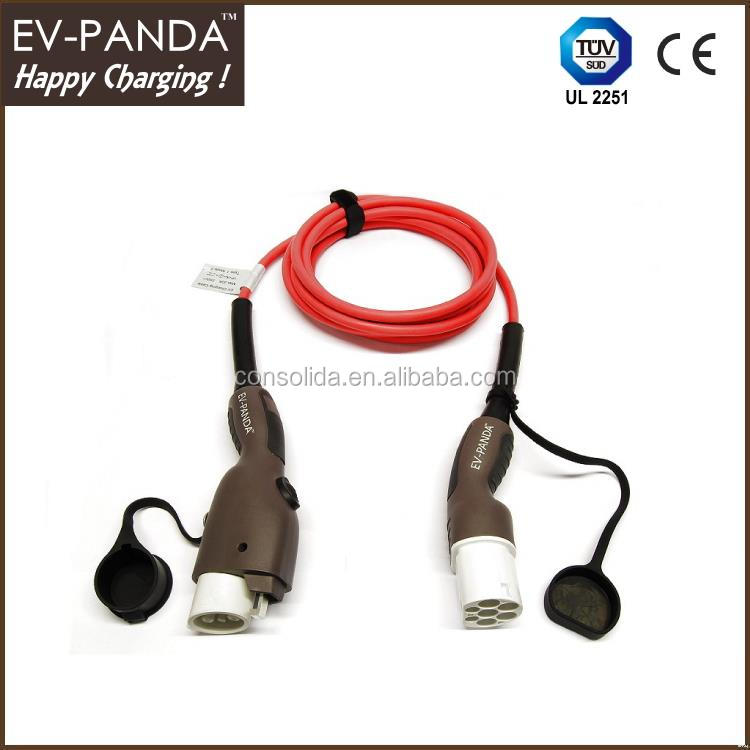 High quality plug cable electric car charger