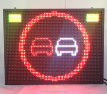 Russia EU USA UAE Fixed Vehicle Rooftop Mounted Boards VMS signs RGB Changeable Message P8 P10 P16 LED Displays