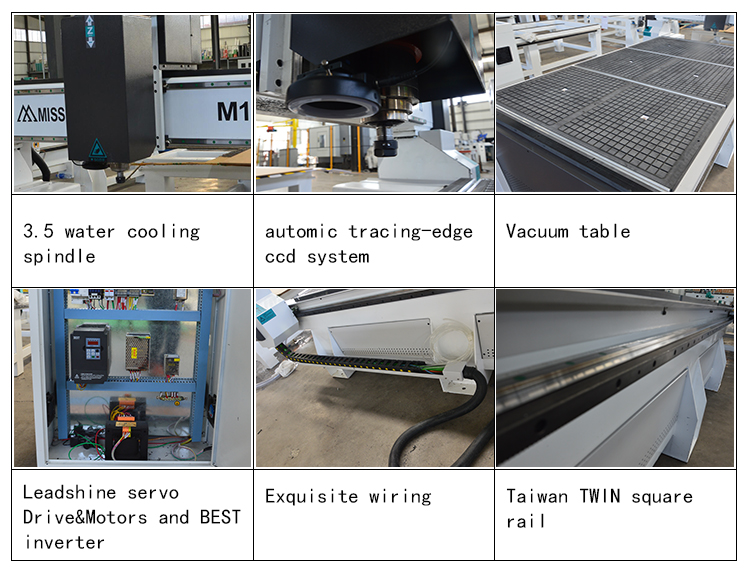MISSILE automic Tracing-edge ccd cnc router