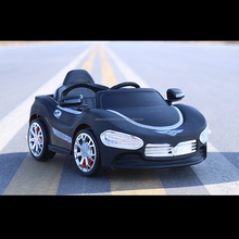 plastic type rc toy car,wholesale battery power electric kids car