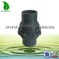 drip irrigation system plastic PVC swing check valves