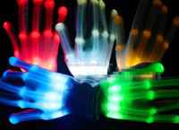High quality wedding party festival led lighting top luminous flashing gloves led magic gloves