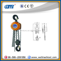 Chain block HSZ type lifting equipment pulley hand pullying chain hoist