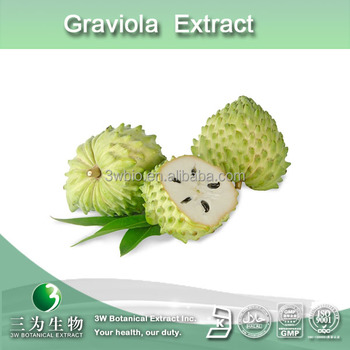 Graviola extract,extract of soursop, annona muricata P.E