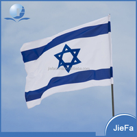China Manufacturer 3'X5' Available Israel Flag