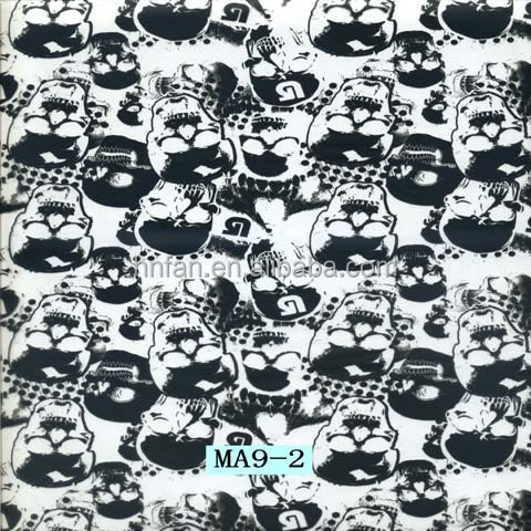 hydrographic film water transfer printing material skull