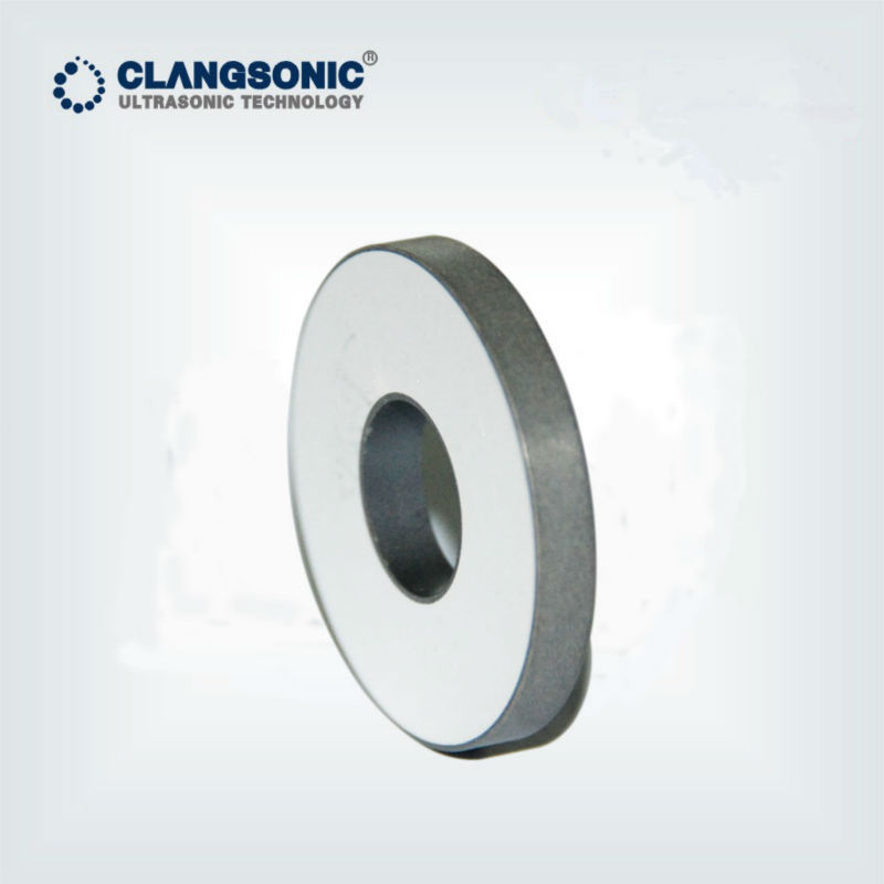 ultrasonic crystal piezoelectric transducer disc piezo ring used in ultrasonic transducer for ultrasonic cleaning