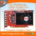 AMD Radeon R7 360 4GB GDDR5 PCIE3.0 6x mini display ports Multiscreen Video Card