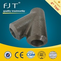 High pressure a105 forged steel pipe fitting BW 45 degree lateral tee