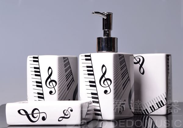 4 pcs ceramic bathroom set , bathroom accessories