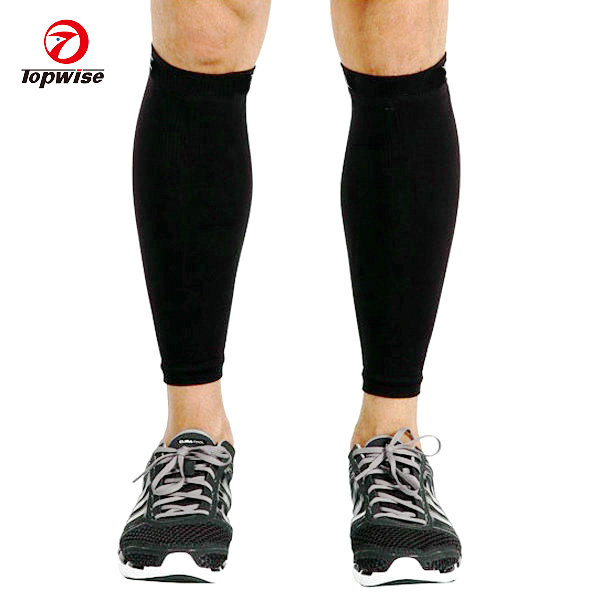 Custom digital print sport cycling calf compression sleeve