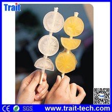 Fruit Lemon Shaped Ice Lollipop Cake Decoration Mould,ice mould