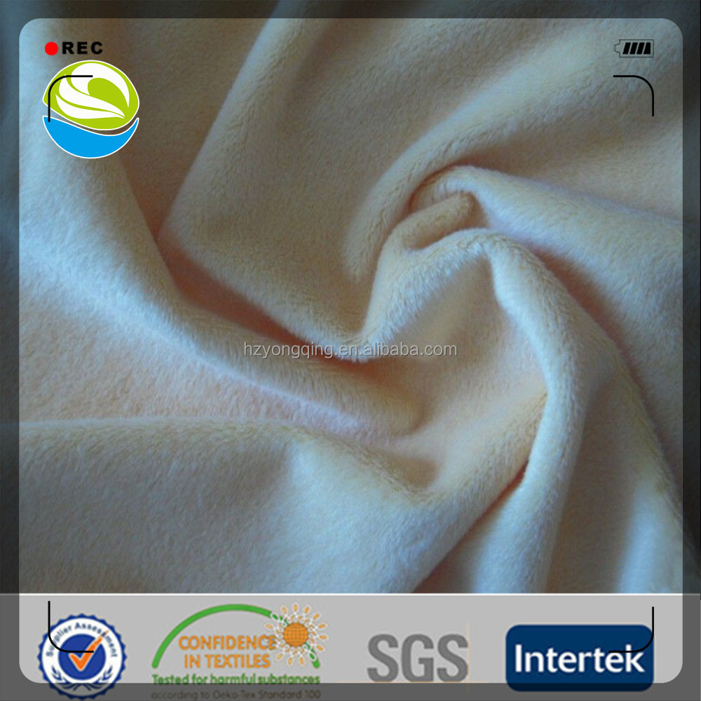 super soft velboa knitted for toy fabric garment fabric,sleepwear
