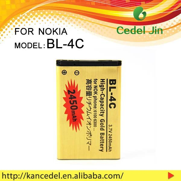 BL-4C 10 years manufacture compatible mobile phones battery for Nokia 6100/6101