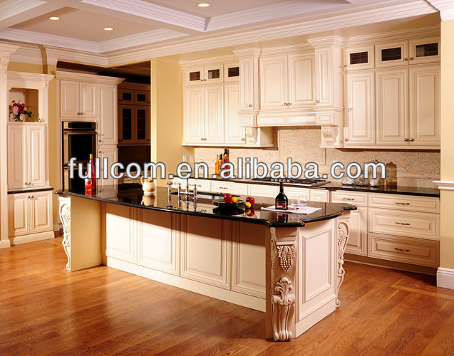 D 39 rable en bois massif porte d 39 armoire de cuisine blanc antique armoire de cuisine id de - Modele de porte d armoire de cuisine ...