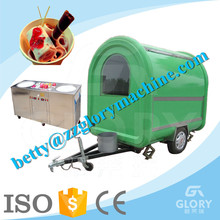 CE Hot And Popular Multifunctional Mobile Kitchen Food Van