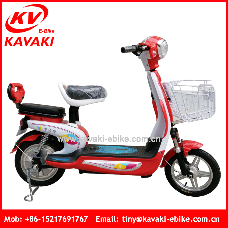 Good Price FOB Guangzhou Port 250 Watt Small Moped Motorcycle Electric Hidden Battery Motorcycle