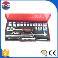 car repair tool spanner tire set socket spanner chrome vanadium or carbon steel cross rim wheel nut wrench of socket wrench set