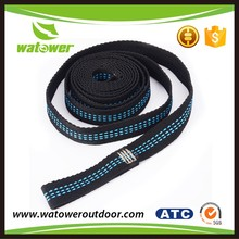 NBWT strong production capacity adjustable polyester hammock straps
