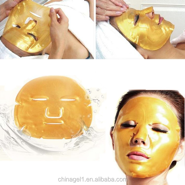 OEM and ODM Services Welcomed solve the skin wrinkles, sagging, dark yellow, brown spots Collagen face Mask