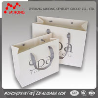 China factory customed printing paper fashion show gift bags