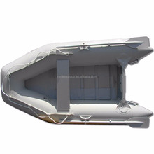 2016 Best Selling 2.7m 3person durable aluminum floor inflatable boats