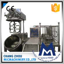Micmachinery 220V-440V 350L food grade high pressure vacuum emulsifying mayonnaise making machine mixer for cheese jam and honey