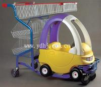 Top Quality!!! Supermarket baby shopping cart toy Direct From Factory YD-026