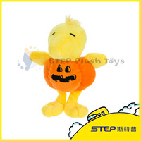 High Quality Manufacturer Halloween Pumpkin Plush Toy For Crane Machines