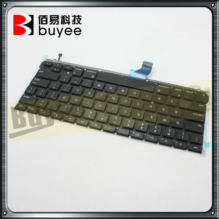 Black laptop keyboard for apple A1502 US keyboard in China,US layout original clavier