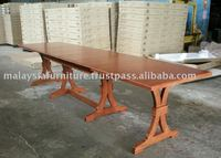 WOODEN EXTENSION TABLE