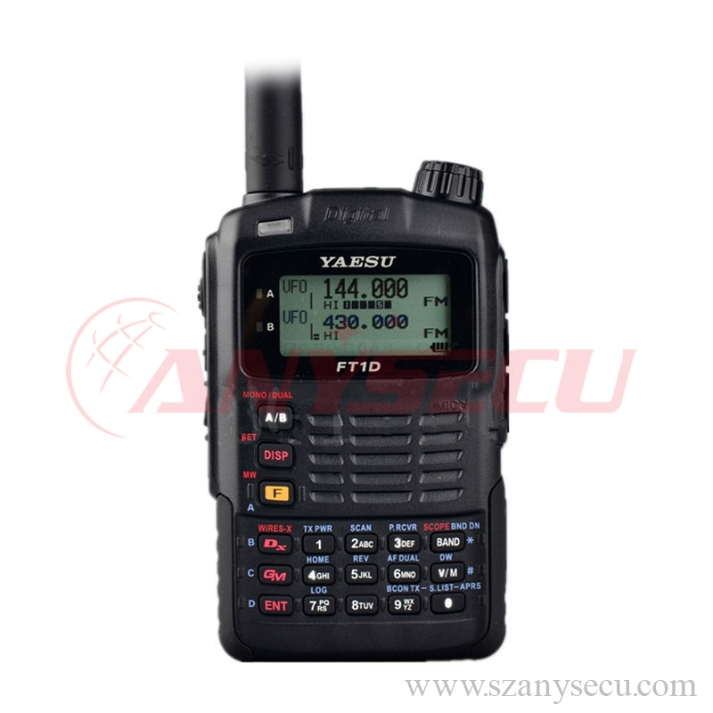 chinese way vhf uhf Promotional FT-1DR taesu transceiver dual band function UHF radio