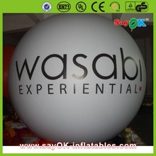 cheap giant commercial inflatable helium advertising balloon price