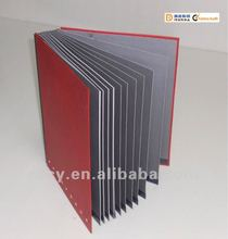 Elegant Signature Folder(red PVC hardboard cover)