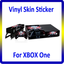 For XBOX One Vinyl Skins Sticker Various Patterns Customized Design Accepted