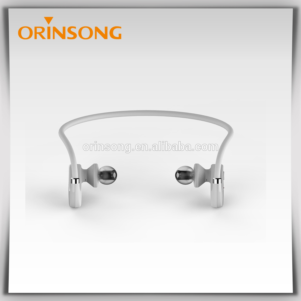 China cheap price medical ear headphones Bluetooth headphone for video.