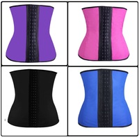 Walson body shaping slimming girls sexy corset black free open hot sexy girl photo corset