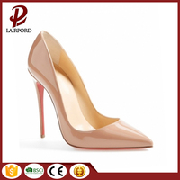 Hot Sell ARRIVAL VERY ATTRACTIVE pencil high heel design Fashion shoes women 2017 new