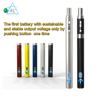 Wholesale patented 510 Intelligent priming system preheat buttonless vape pen battery special for cbd thc ceramic coil cartridge