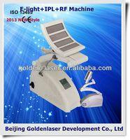 2013 New design E-light+IPL+RF machine tattooing Beauty machine permanent tattoo grips