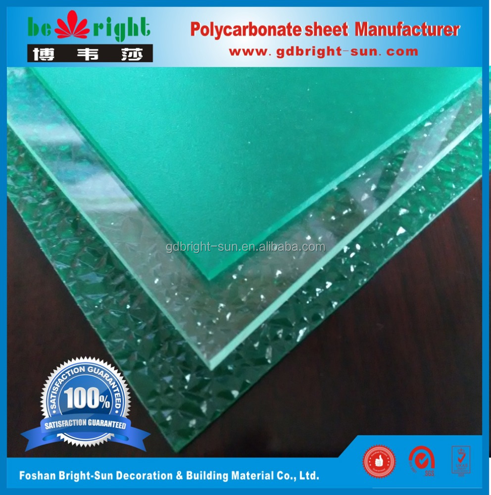plastic sheet high quality UV protected Lexan solar panel Abrasive & solid polycarbonate sheet